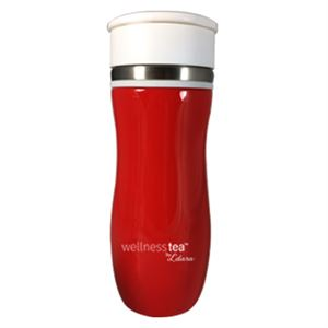 Picture of Matcha Tea Infuser Red Shaker